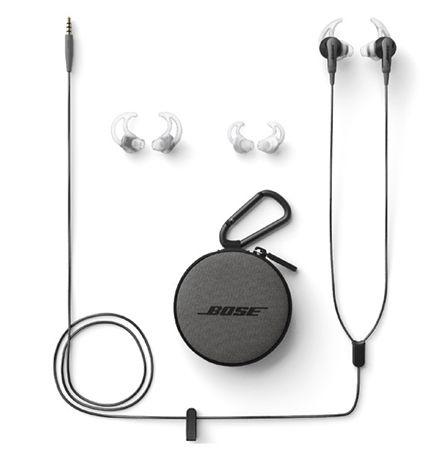 Bose SoundSport In Ear Kopfhörer für 69,17€ (statt 86€)