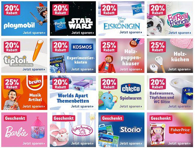 Bildschirmfoto 2016 11 22 um 13.50.31 Bis 25% Rabatt bei ToysRUs + VSK frei ab 50€