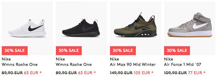 Sneaker Sale + 20% Extra Rabatt bei caliroots   z.B. Air Max 1 Ultra Essential für 83€ (statt 112€)