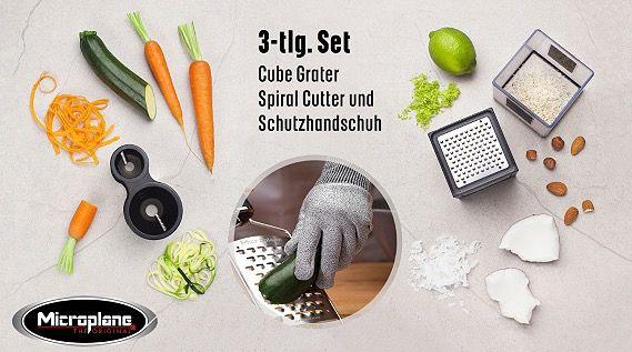Microplane Reiben Set 3 teilig für 29,95€ (statt 38€)