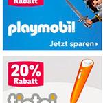 Bis 25% Rabatt bei Toys'R'Us + VSK-frei ab 50€