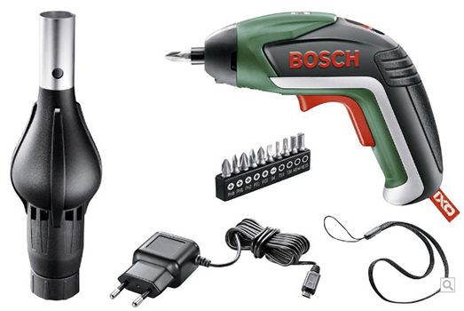 Schnell! Bosch IXO V BBQ Akku Schrauber inkl. Gebläseaufsatz ab 23,45€ (statt 49€)