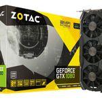 ZOTAC GeForce GTX 1080 AMP! Extreme Edition 8GB für 683,10€ (statt 744€)