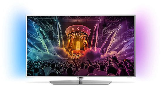 Philips 49PUS6551   49 Zoll UHD Fernseher mit 2 seitigem Ambilight für 666€ (statt 834€)