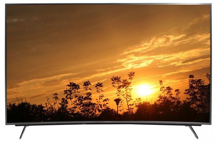 Panasonic TX 55CRW734   55 Zoll Curved Ultra HD Fernseher für 999€ (statt 1.279€)