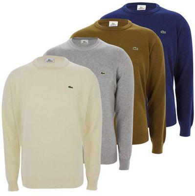 Lacoste Herren Rundhals Pullover für 34€ (statt 40€)