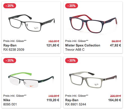 Mister Spex   Bis zu  50% auf Brillen und Sonnenbrillen