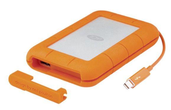 LaCie Rugged 2TB Thunderbolt USB 3.0 für 199€ (statt 218€)
