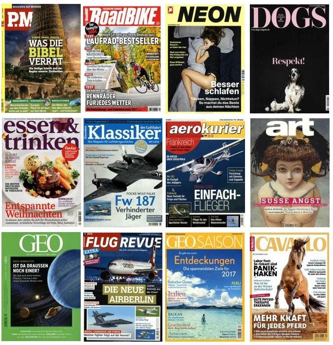 Große Weihnachtskampagne DPV mit vielen günstigen Abos – z.B. P.M. Magazin Jahresabo für 8€