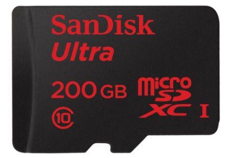 Abgelaufen! SanDisk Ultra 200GB microSDXC für nur 49€ (statt 70€)   nur Abholung im Media Markt möglich!