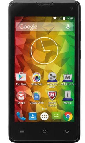Medion Life E4503   4,5 Zoll Smartphone für 49,99€ (statt 80€)   B Ware