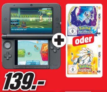 Bildschirmfoto 2016 11 29 um 09.10.37 Nintendo 3DS XL + Pokemon Mond oder Pokemon Sonne ab 139€ (statt 210€)