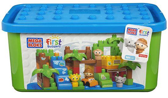 Bildschirmfoto 2016 11 29 um 13.59.14 Mattel Mega Bloks First Builders Themenbox (Großer Zoo / Safaripark) für 23,99€ (statt 34€)