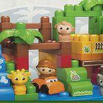 Mattel Mega Bloks First Builders Themenbox (Großer Zoo / Safaripark) für 23,99€ (statt 34€)