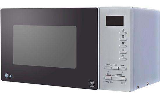 Schnell! LG MS2354JAS Mikrowelle mit 800 Watt für 49,99€ (statt 135€)