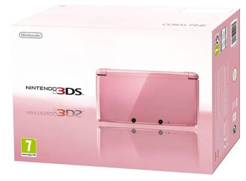 Nintendo 3DS in Coral Pink für 82,95€ (statt 109€)