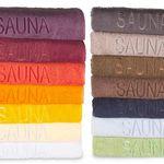 Saunatücher 70x200cm in 14 Farben für je 9,99€