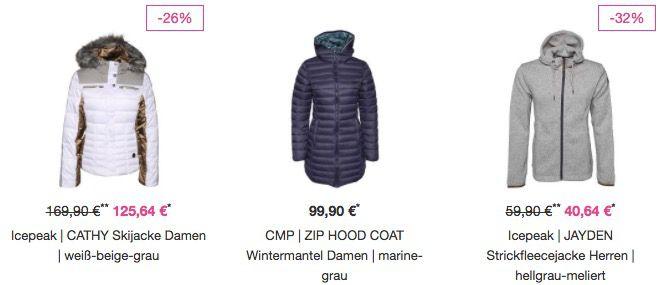 25% auf ALLE Jacken bei Vaola   z.B. Icepeak Strickfleecejacke für 36€ (statt 50€)