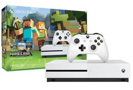 Xbox One S 500GB + Minecraft + PES 2016 für 199€ (statt 236€)