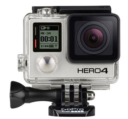 GoPro HERO 4 Silver   Actionkamera mit WiFi (refurb.) für nur 219,90€ (statt 326€)