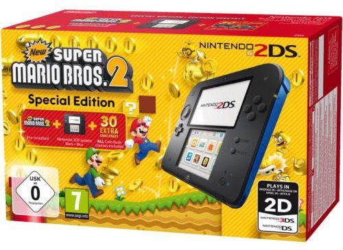 Nintendo 2DS + New Super Mario Bros. 2 für 83,99€ (statt 95€)