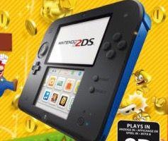 Nintendo 2DS + New Super Mario Bros. 2 für 69€ (statt 98€)