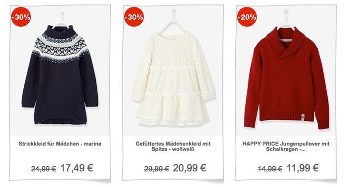 Vertbaudet Sale mit bis zu 40% Rabatt + 10€ Gutschein ab 30€