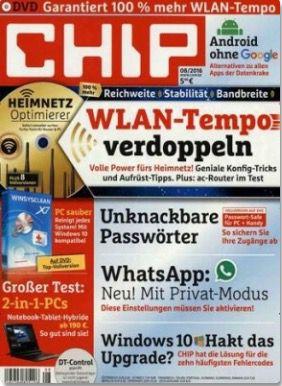 12 Ausgaben CHIP mit DVD für 24,95€ (statt 73€)