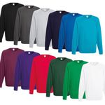 Fruit of the Loom – Herren Sweatshirts (240g) div. Farben für je 8,99€