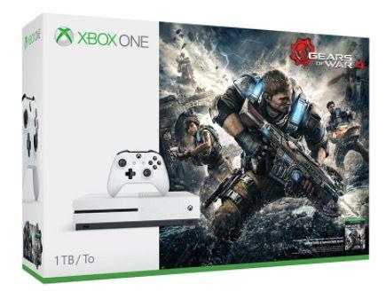 Xbox One S 1TB + Gears of War 4 für 229€ (statt 284€)