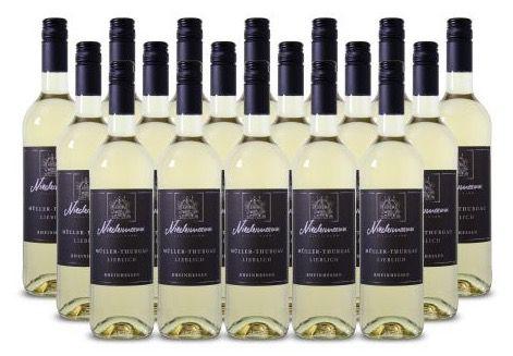 18 Flaschen Niedermann Müller Thurgau Weißwein für 49,99€