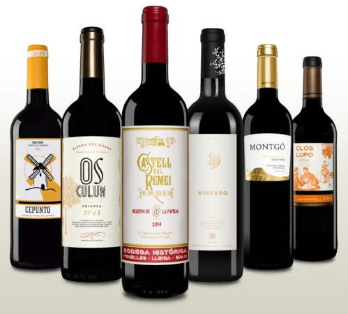 6 Flaschen spanische Rotweine im Probierpaket für 29,50€