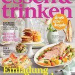 essen & trinken Jahresabo für 58,80€ inkl. 35€ Gutschein oder Verrechnungsscheck