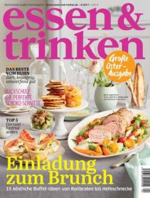 essen & trinken Jahresabo für effektiv 8,80€ dank Gutschein Prämie
