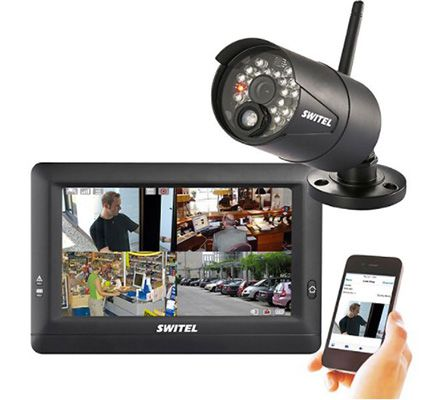 Switel HSIP 5000   drahtloses Digital HD Überwachungssystem inkl. 1 Kamera für 179,95€ (statt 209€)