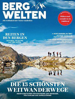 3 Ausgaben Bergwelten für 11,90€ + gratis Trinkflasche (Wert 6€)