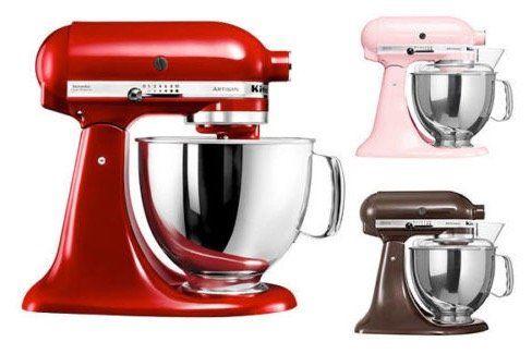KitchenAid 5KSM150PSE Küchenmaschine für 349€ (statt 499€)   generalüberholt!