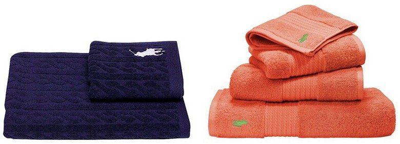 Ralph Lauren Home Sale bei vente privee   z.B. Handtuch Player aus Baumwolle  600g/m² ab 3€ (statt 6€)