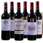 6 Flaschen prämierter Bordeaux Superieur Wein in Holzkiste für 39,99€ – alle Weine mit Gold prämiert!
