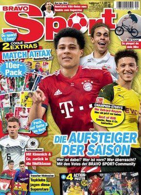 13 Ausgaben BRAVO Sport für 32,50€ + 20€ Amazon Gutschein