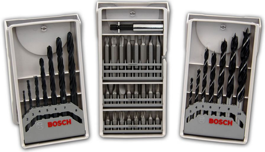 Bosch Bit und Bohrer Set Bosch Bit  und Bohrer Set 39 tlg. für nur 9,99€