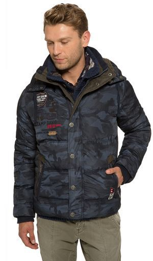 Camp David   Herren Winterjacke Camouflage bis XL für 99,95€