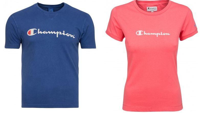 Champion Shirts Champion Damen und Herren Shirts statt 11€ für 4,99€   wenig Größen