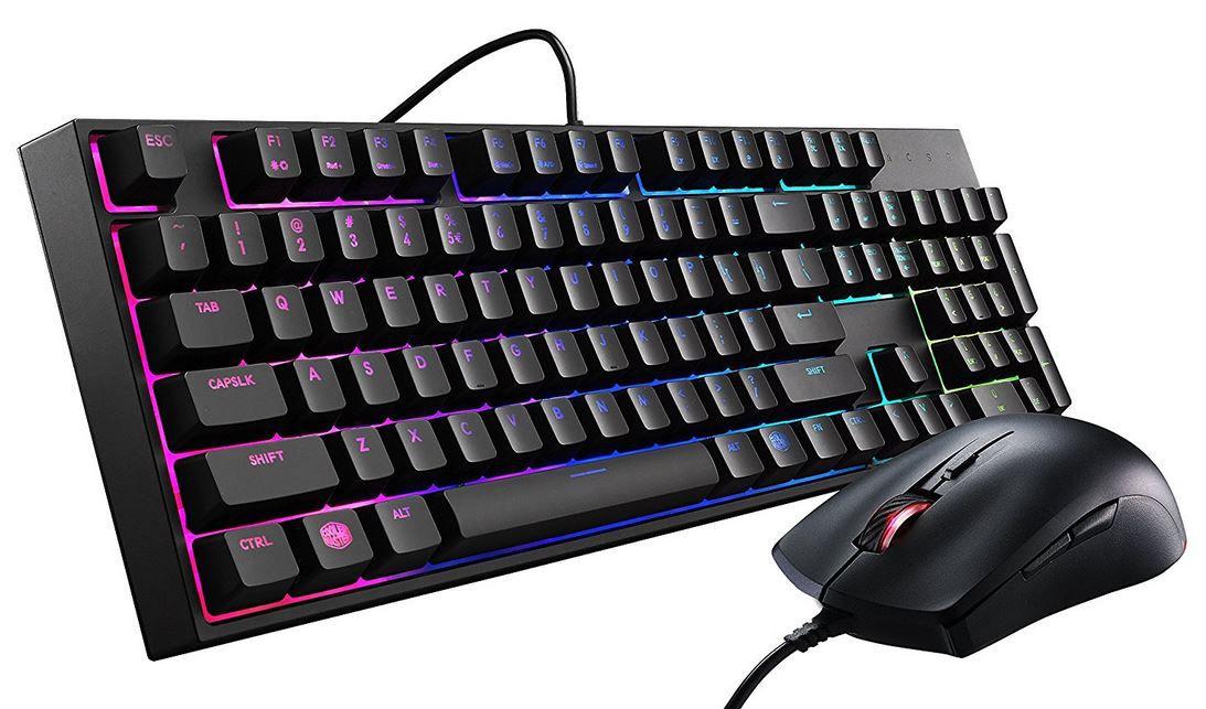 Cooler Master MasterKeys Lite L   Gaming Tastatur mit Maus für 29,99€ (statt 50€)
