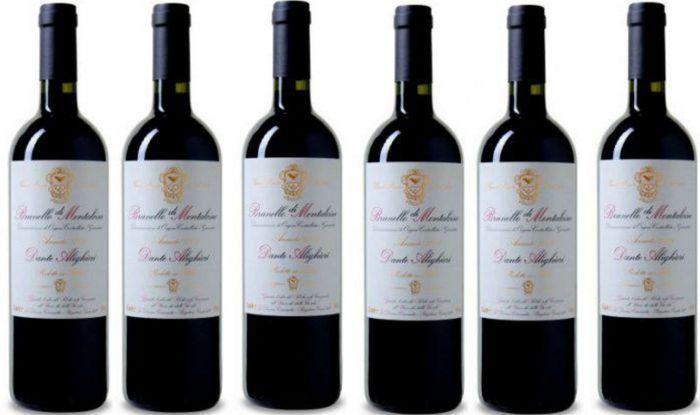 6 Flaschen Dante Alighieri – Brunello di Montalcino DOCG 2011 für nur 118,89€ (statt 240€)