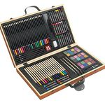 Holzfarbmalkasten mit 88 Teilen für nur 17,99€