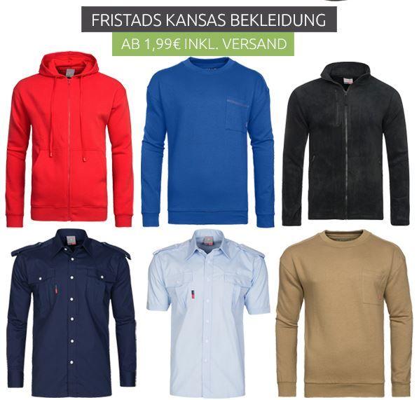 Schnell! FRISTADS KANSAS Sale   z.B. Herren FRISTADS KANSAS Shirts für 0,99€