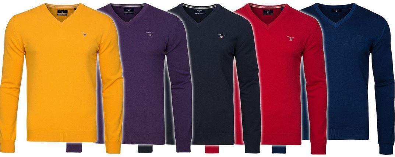 GANT Herren merino Pullover GANT Merino Lambswool Pullover für 19,99€   nur Restgrößen!
