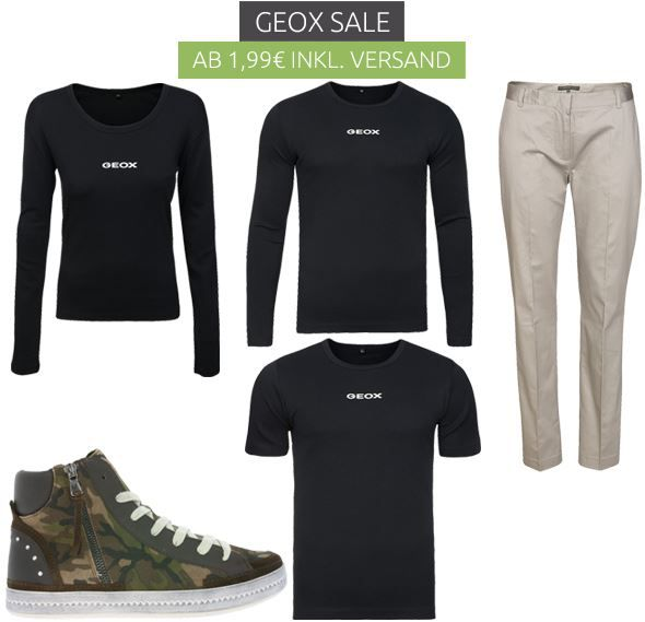 Geox Damen Sale by Outlet46 mit Fashion ab 1,99€