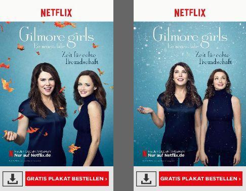 Gilmore Girls Netflix Plakate kostenlos